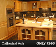Cathedral Ash Kitchen Units