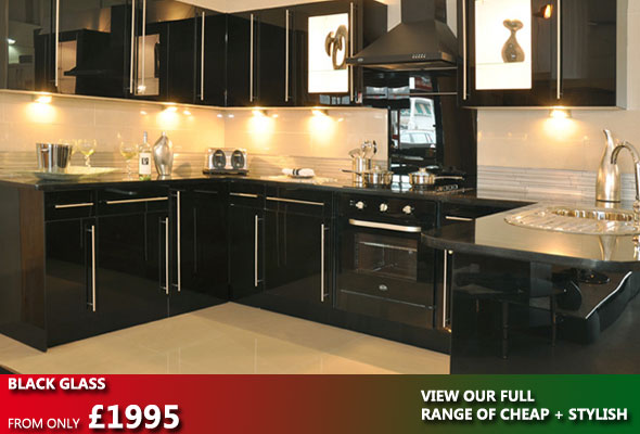 Fitted kitchen sale for Black kitchen units sale