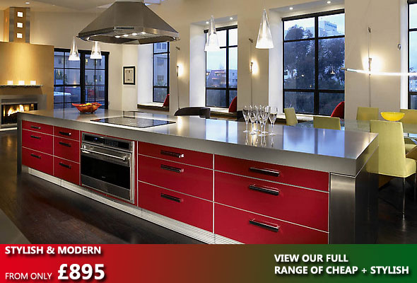 Stylish and modern kitchens the kitchen factory for New kitchens for sale